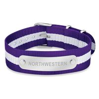 Northwestern University NATO ID Bracelet