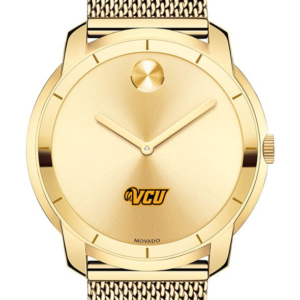 Virginia Commonwealth University Men's Movado Gold Bold 44