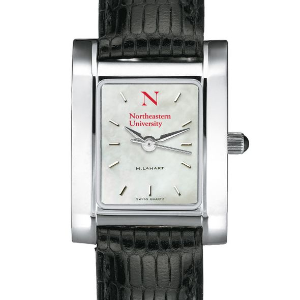 Northeastern Women's MOP Quad with Leather Strap - Image 1