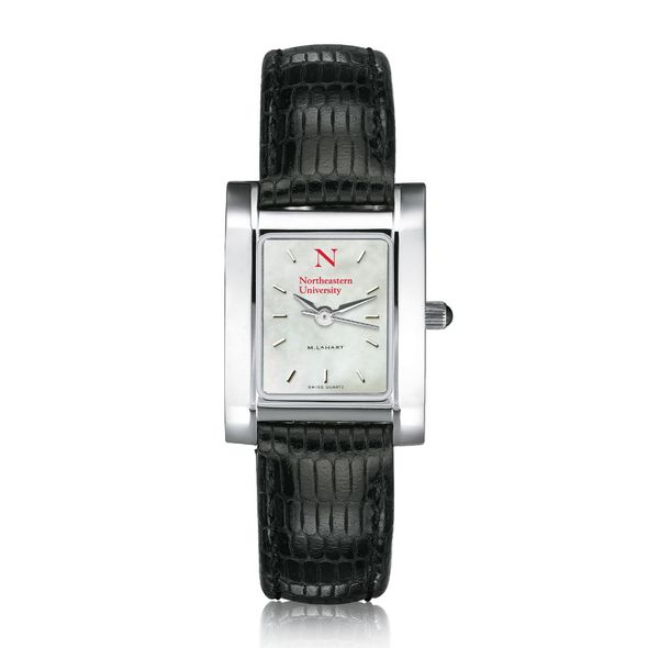 Northeastern Women's MOP Quad with Leather Strap - Image 2