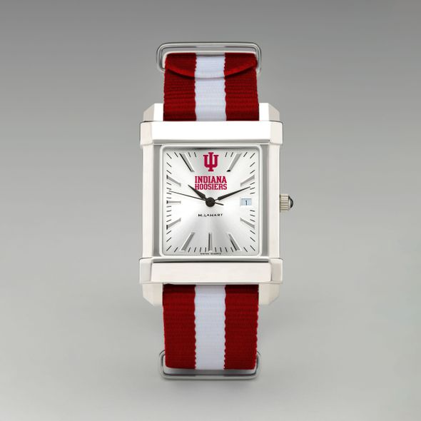 Indiana University Collegiate Watch with NATO Strap for Men - Image 2