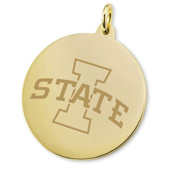 Iowa State University 18K Gold Charm - Image 2