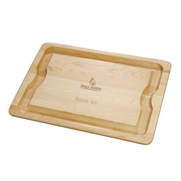 Ball State Maple Cutting Board - Image 1