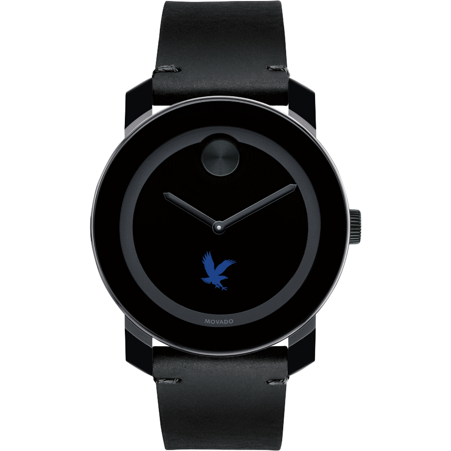 Embry-Riddle Men's Movado BOLD with Leather Strap - Image 2
