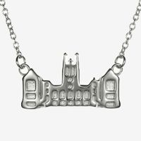 Boston College Sterling Silver Campus Architecture Necklace by Kyle Cavan