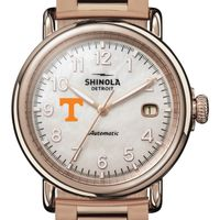 Tennessee Shinola Watch, The Runwell Automatic 39.5mm MOP Dial
