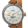 Michigan Ross Shinola Watch, The Birdy 38mm MOP Dial - Image 1