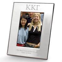 Kappa Kappa Gamma Polished Pewter 4x6 Picture Frame