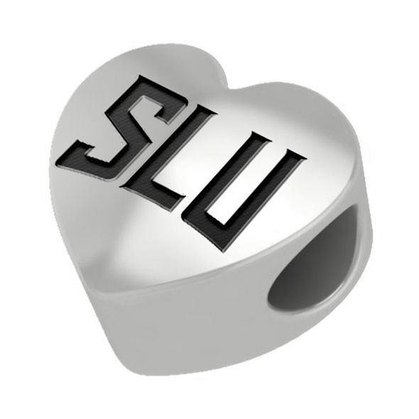 Saint Louis University Heart Shaped Bead