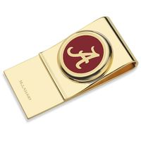 University of Alabama Enamel Money Clip