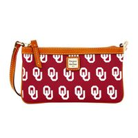 Oklahoma  Dooney & Bourke Large Slim Wristlet