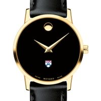 University of Pennsylvania Women's Movado Gold Museum Classic Leather