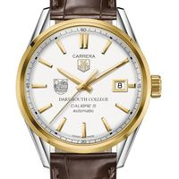 Dartmouth College Men's TAG Heuer Two-Tone Carrera with Strap