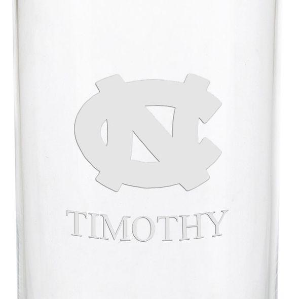 University of North Carolina Iced Beverage Glasses - Set of 2 - Image 3
