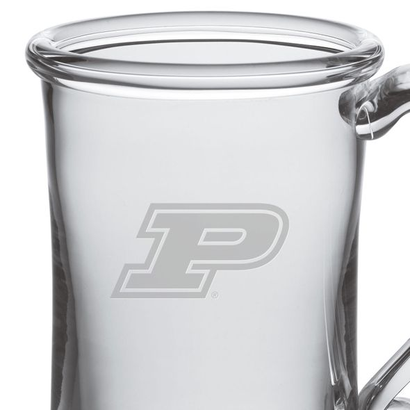 Purdue University Glass Tankard by Simon Pearce - Image 2