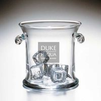 Duke Fuqua Glass Ice Bucket by Simon Pearce