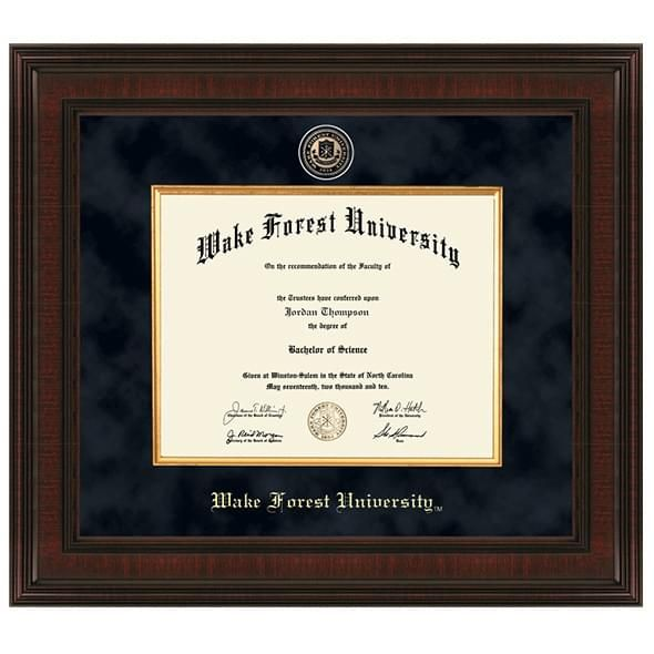 Wake Forest Excelsior Diploma Frame