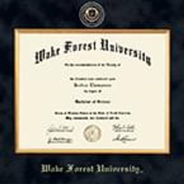 Wake Forest Excelsior Diploma Frame - Image 2