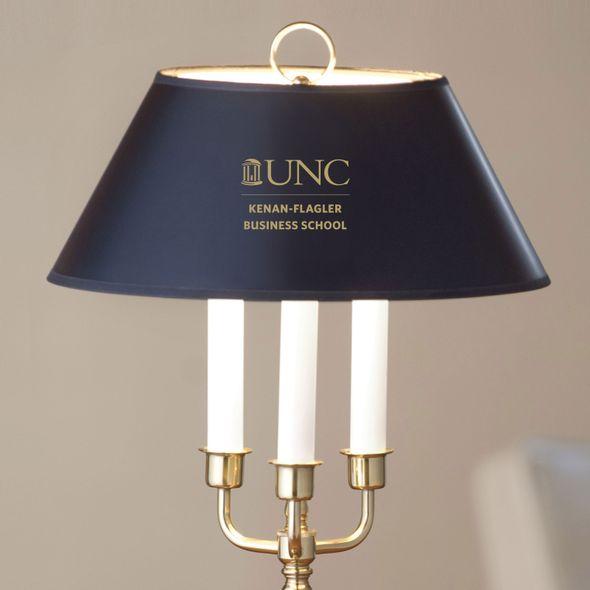 UNC Kenan-Flagler Lamp in Brass & Marble - Image 2