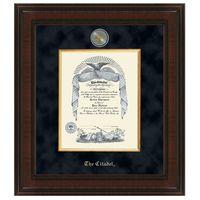 Citadel Diploma Frame - Excelsior
