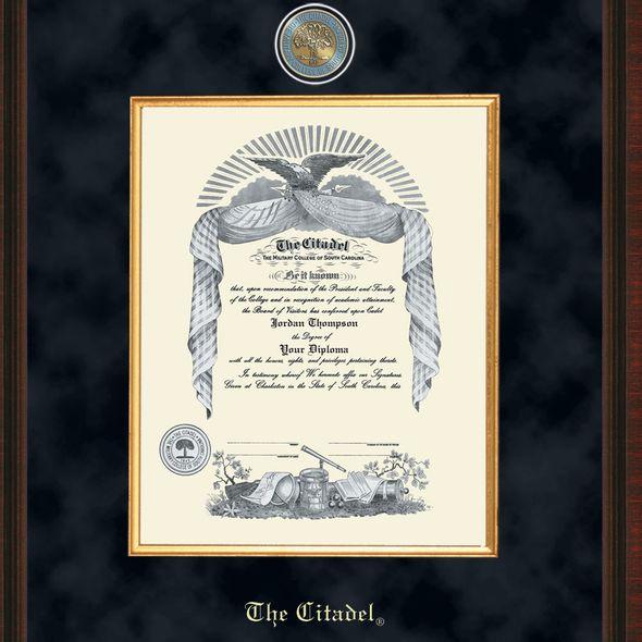 Citadel Diploma Frame - Excelsior - Image 2