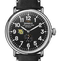 Marquette Shinola Watch, The Runwell 47mm Black Dial