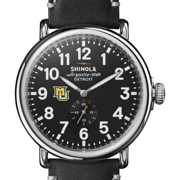 Marquette Shinola Watch, The Runwell 47mm Black Dial - Image 1