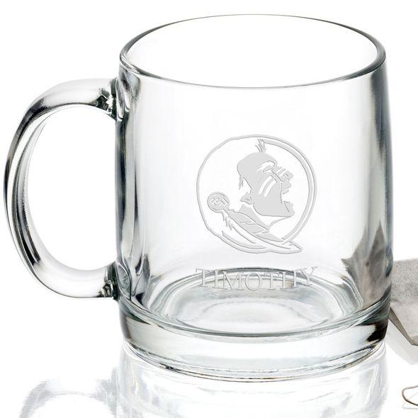 Florida State University 13 oz Glass Coffee Mug - Image 2