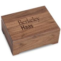 Berkeley Haas Solid Walnut Desk Box