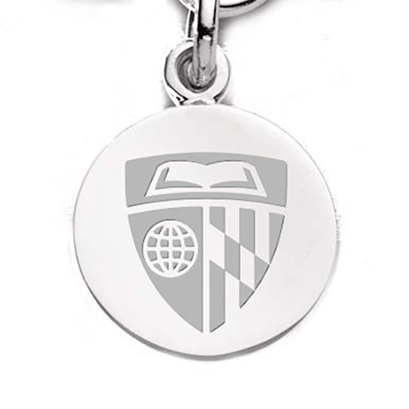 Johns Hopkins Sterling Silver Charm - Image 2