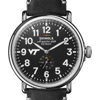 Virginia Tech Shinola Watch, The Runwell 47mm Black Dial
