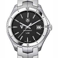Vanderbilt TAG Heuer Men's Link Watch with Black Dial