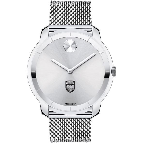 University of Chicago Men's Movado Stainless Bold 44 - Image 2