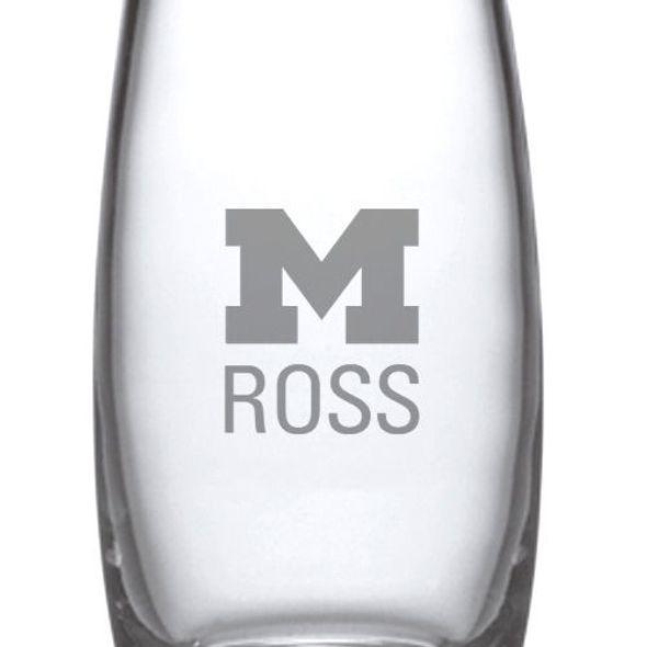 Michigan Ross Glass Addison Vase by Simon Pearce - Image 2