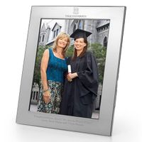 Yale Polished Pewter 8x10 Picture Frame