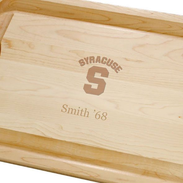 Syracuse University Maple Cutting Board - Image 2