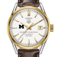 Michigan Men's TAG Heuer Two-Tone Carrera with Strap