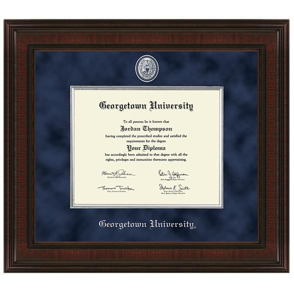 Georgetown Excelsior Diploma Frame