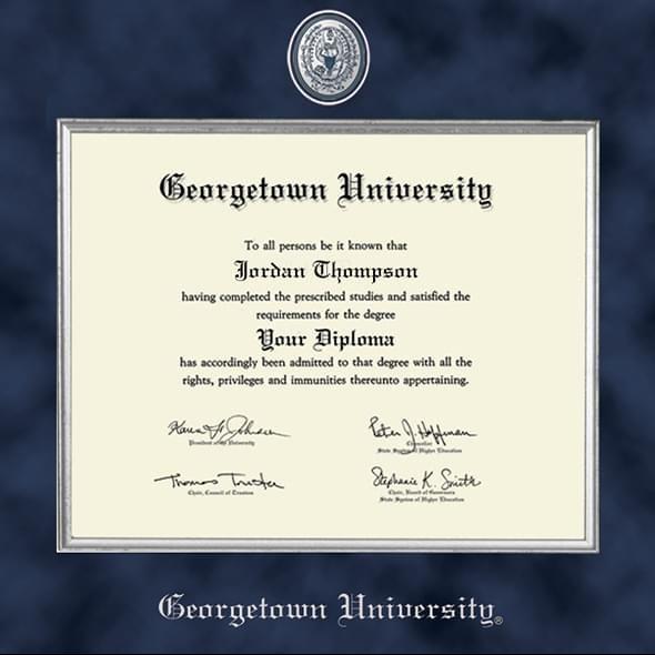 Georgetown Excelsior Diploma Frame - Image 2