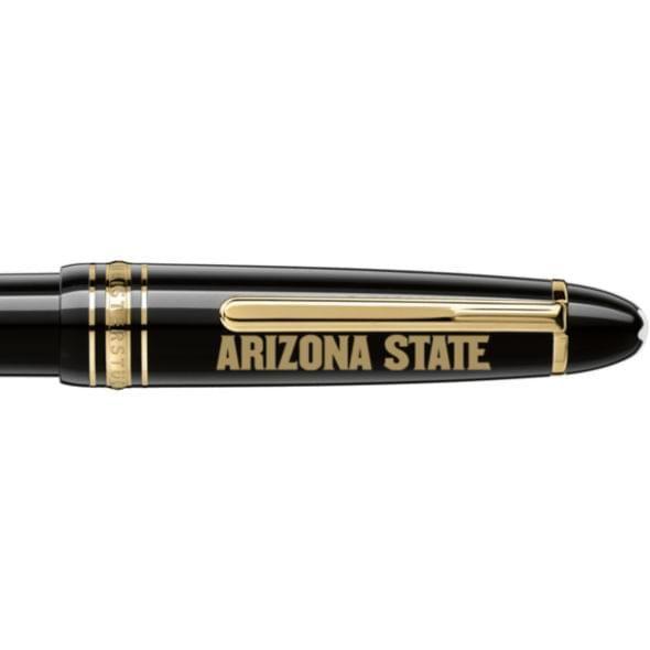 Arizona State Montblanc Meisterstück LeGrand Ballpoint Pen in Gold - Image 2