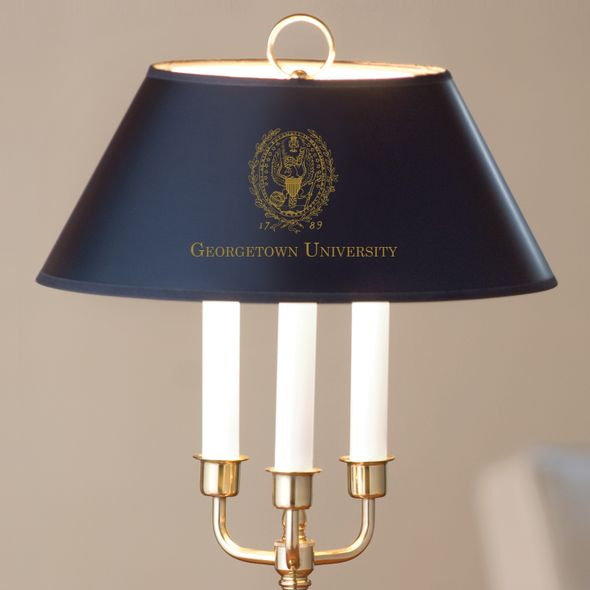 Georgetown University Lamp in Brass & Marble - Image 2