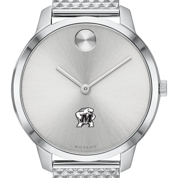 University of Maryland Women's Movado Stainless Bold 35