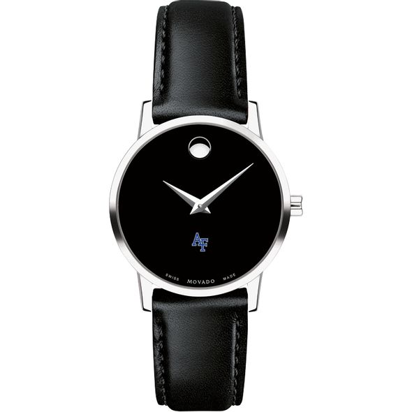 US Air Force Academy Women's Movado Museum with Leather Strap - Image 2
