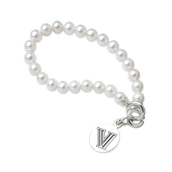 Villanova Pearl Bracelet with Sterling Charm - Image 2