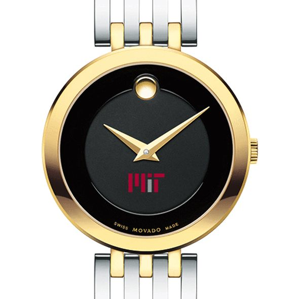 MIT Women's Movado Esparanza Two-Tone Museum with Bracelet