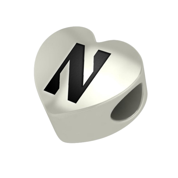 Northwestern Heart Shaped Bead - Image 2