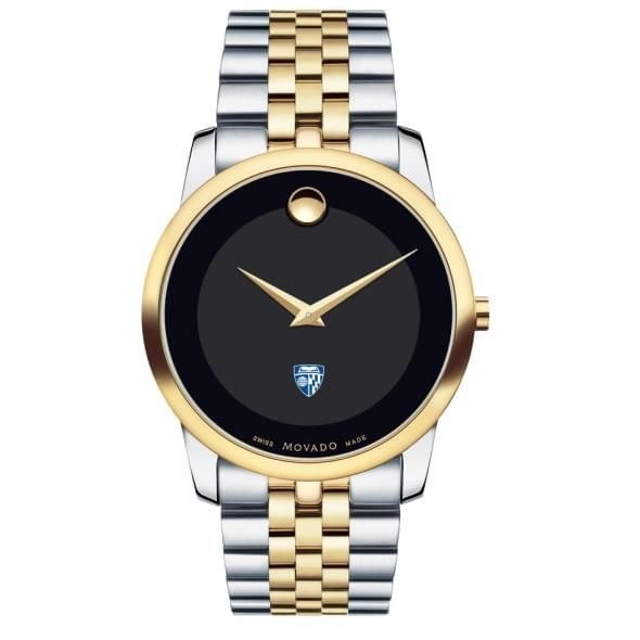 Johns Hopkins Men's Movado Two-Tone Museum Classic Bracelet - Image 2