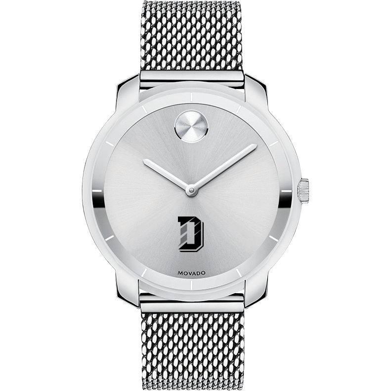 Davidson College Women's Movado Stainless Bold 36 - Image 2