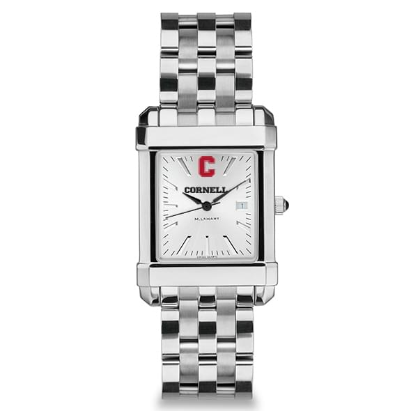 Cornell Men's Collegiate Watch w/ Bracelet - Image 2
