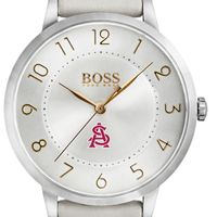 Arizona State Women's BOSS White Leather from M.LaHart